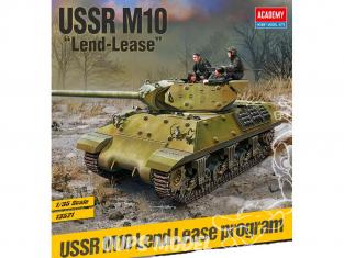 "Academy maquettes militaire 13521 USSR M10 ""Lend-Lease"" 1/35"