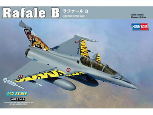 Hobby Boss maquette avion 87245 RAFALE B 1/72