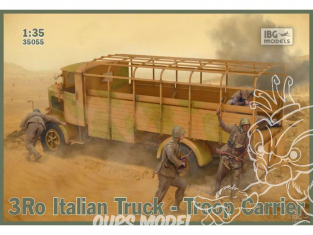 IBG maquette militaire 35055 Camion italien 3Ro transport de troupes 1/35