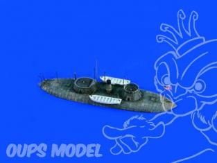 Verlinden maquette bateau 2276 USS Keokuk Waterline 1/200