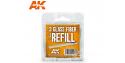 Ak Interactive outillage AK8065 3 Recharges pour Brosse en fibre de verre