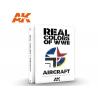 Ak Interactive livre AK290 Real Colors WWII Aircraft - Couleurs réelles Avions en Anglais
