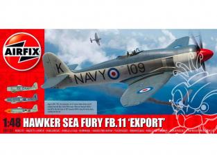 Airfix maquette avion A06106  Hawker Sea Fury FB.11 Export Edition 1/48