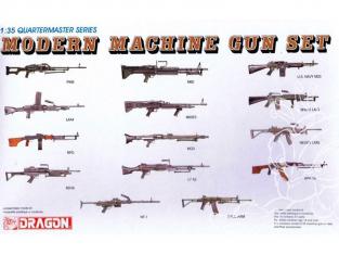 Dragon maquette militaire 3806 mitrailleuse et mitraillettes Moderne 1/35