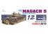 Dragon maquette militaire 3618 IDF Magach 5 avec ERA et Mine Roller 1/35