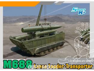 Dragon maquette militaire 3607 M688 Tranporteur et grue de missile pour les lanceur MGM-52 1/35