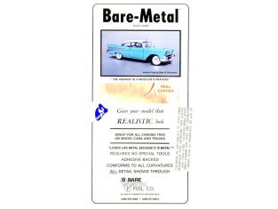 Bare métal Finition 017 Cuivre