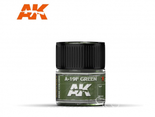 Ak interactive Real Colors RC312 Vert - A-19F Green 10ml