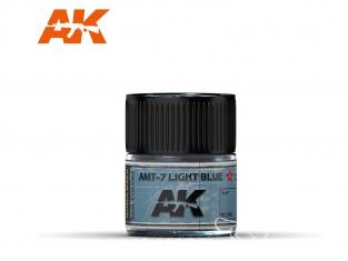 Ak interactive Real Colors RC316 Bleu clair - AMT-7 Light Blue 10ml