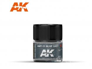 Ak interactive Real Colors RC317 Bleu gris - AMT-11 Blue Grey 10ml