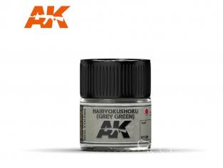 Ak interactive Real Colors RC328 Gris Vert Hairyokushoku - Grey Green 10ml