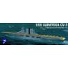 "trumpeter maquette bateau 05607 PORTE-AVIONS USS CV-3 ""SARATOGA"""