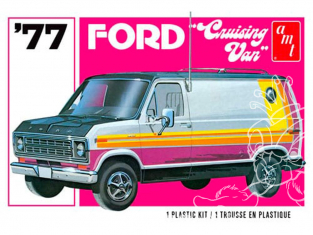 AMT maquette voiture 1108 1977 Ford Cruising Van 1/25