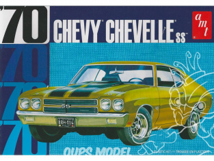 AMT maquette voiture 1143 Chevy Chevelle SS 70 1/25