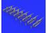EDUARD Brassin super detaillage 635009 Fusils M16 Guerre Vietnam 1/35