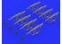 EDUARD Brassin super detaillage 635010 Fusils d'assaut AK47 1/35