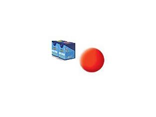 peinture revell Aqua 25 Orange fluo mat