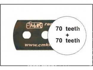 CMK outillage h1005 LAMES DE SCIE Ultra FINES (des deux côtés) 5p