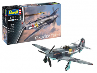 Revell maquette avion 03894 Yakovlev Yak-3 1/72