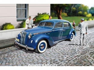 Revell maquette voiture 07042 Opel Admiral Saloon 1/25