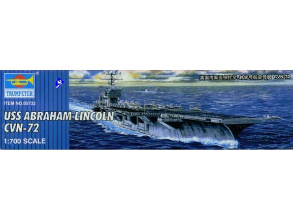 """trumpeter maquette bateau 05732 PORTE AVIONS USS CVN-72 """"ABRAHAM"""
