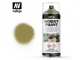 Vallejo spray 28001 Bombe peinture Jaune Panzer - Dunkelgelb 400ml