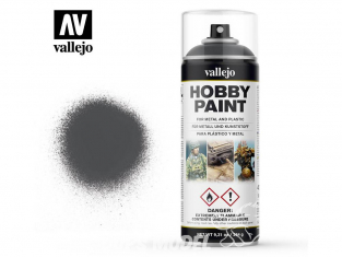 Vallejo spray 28002 Bombe peinture Gris Panzer - Dunkelgrau 400ml