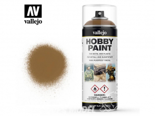 Vallejo spray 28014 Bombe peinture Brun cuir 400ml