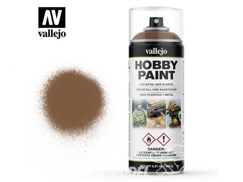 Vallejo spray 28019 Bombe peinture Brun insectes 400ml