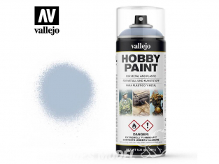 Vallejo spray 28020 Bombe peinture Gris loup 400ml