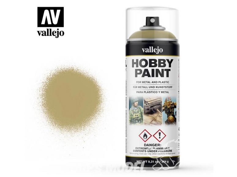 Vallejo spray 28022 Bombe peinture Peau morte 400ml