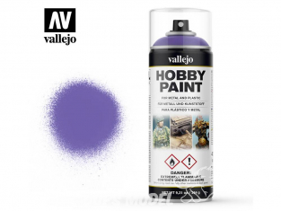 Vallejo spray 28025 Bombe peinture Violet Alien 400ml