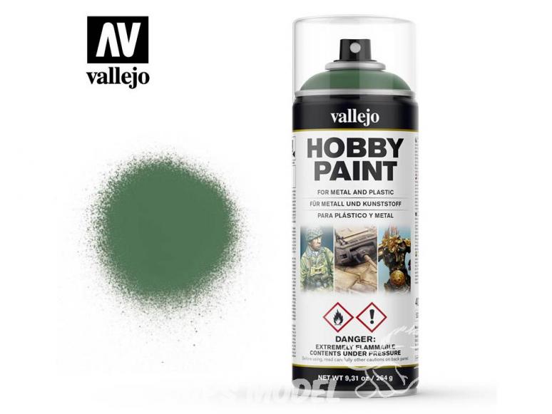 Vallejo spray 28028 Bombe peinture Vert Malade 400ml