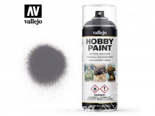 Vallejo spray 28031 Bombe peinture Gris métalisé - Gunmetal 400ml