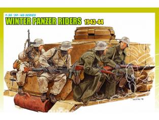 dragon maquette militaire 6513 Infanterie Panzer portee hiver 1943-44 1/35