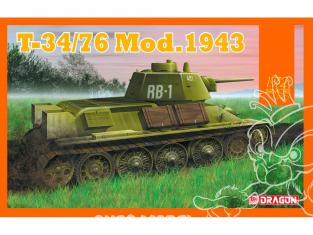 Dragon maquette militaire 7596 T-34/76 Modèle 1943 1/72
