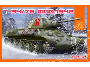 Dragon maquette militaire 7595 T-34/76 Modèle 1942 1/72