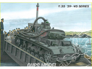"""Dragon maquette militaire 6877 Pz.Kpfw.III (3.7cm) (T) Ausf.F """"OPERATION SEELOWE"""" 1/35"""
