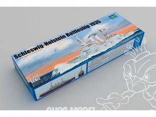 """TRUMPETER maquette bateau 05354 CUIRASSÉ """"SCHLESWIG-HOLSTEIN"""" DEUTSCH KRIEGSMARINE 1935 1/350"""