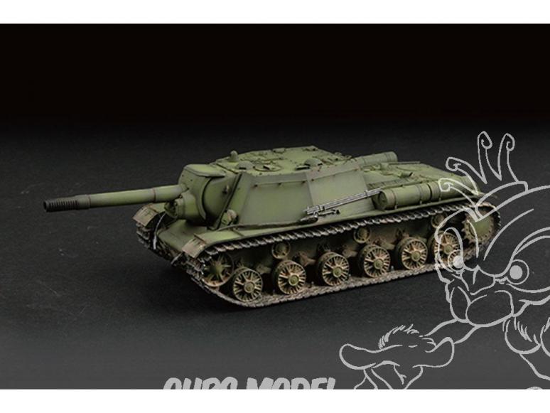 TRUMPETER maquette militaire 07129 SU-152 CANON AUTOMOTEUR LOURD SOVIÉTIQUE (début de production) 1943 1/72