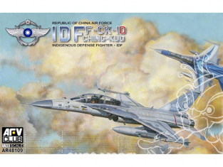 AFV maquette avion 48109 IDF AIDC F-CK-1 Ching-Kuo 1/48