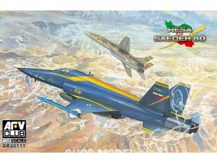 AFV maquette avion 48111 I.R.I.A.F Saeqeh-80 1/48