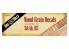 DAS WERK maquette militaire DWA001 Decalques facons bois pour SdAh 115 1/35