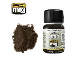 MIG pigments 3027 Terre Ferme sombre 35ml