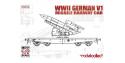 Modelcollect maquette militaire 72171 Wagon equipé d'un V1 Allemagne WWII 1/72