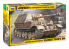 """Zvezda maquette militaire 3659 Chasseur de chars allemand """"Elephant"""" SD.KFZ.184 1/35"""