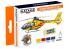 Hataka Hobby peinture laque Orange Line CS79 Set Air Ambulance Vol.2 4 x 17ml