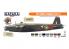 Hataka Hobby peinture laque Orange Line CS102 Set RAF Bomber command 8 x 17ml