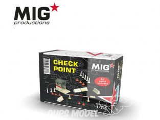 MIG Productions by AK MP72-352 Check Point 1/72