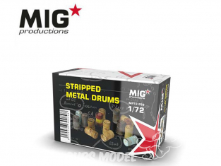 MIG Productions by AK MP72-358 Futs en métal 1/72